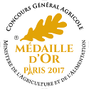 Medaille Or 2017 125